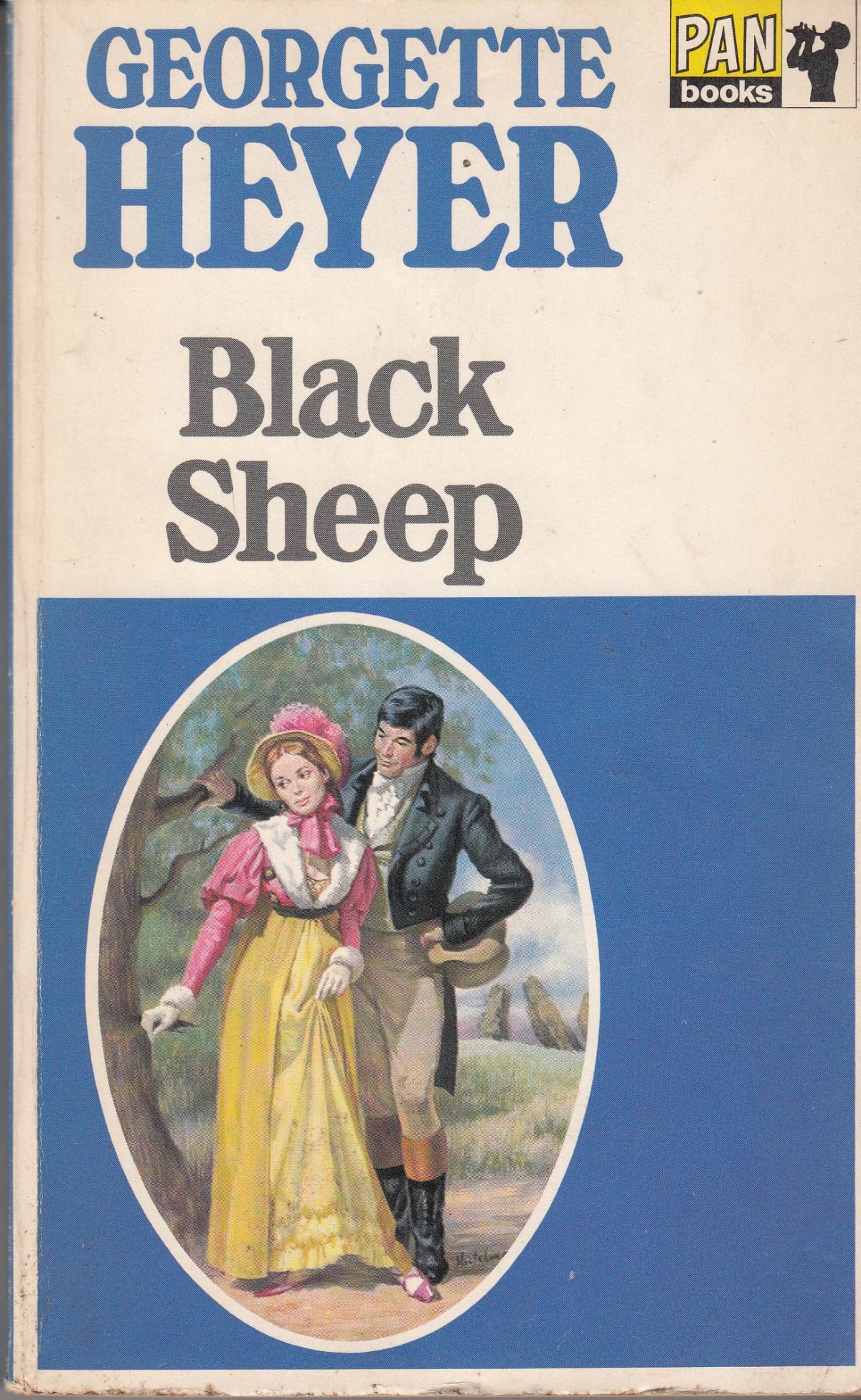 Black Sheep - Georgette Heyer - Pan Books - Acceptable - Paperback