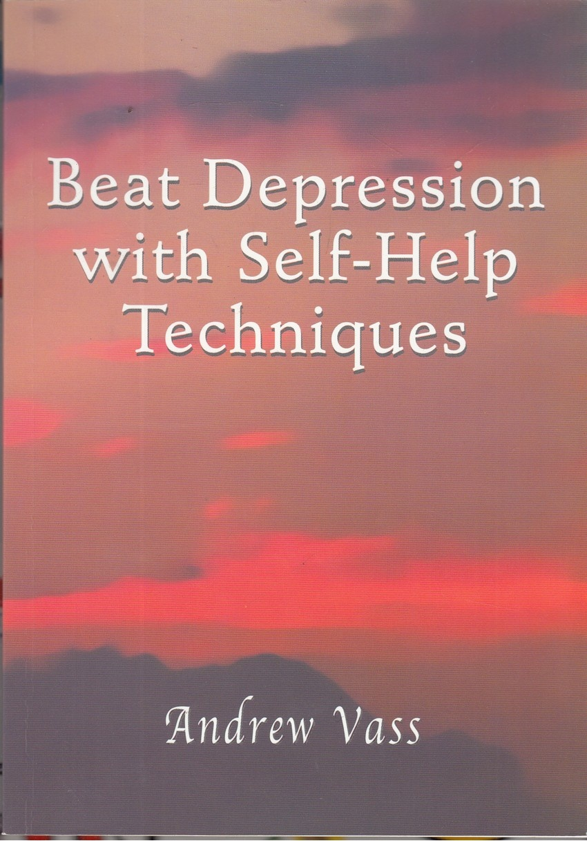 Beat Depression with Self Help Techniques - Andrew Vass - SIGNED - Good - Pap...